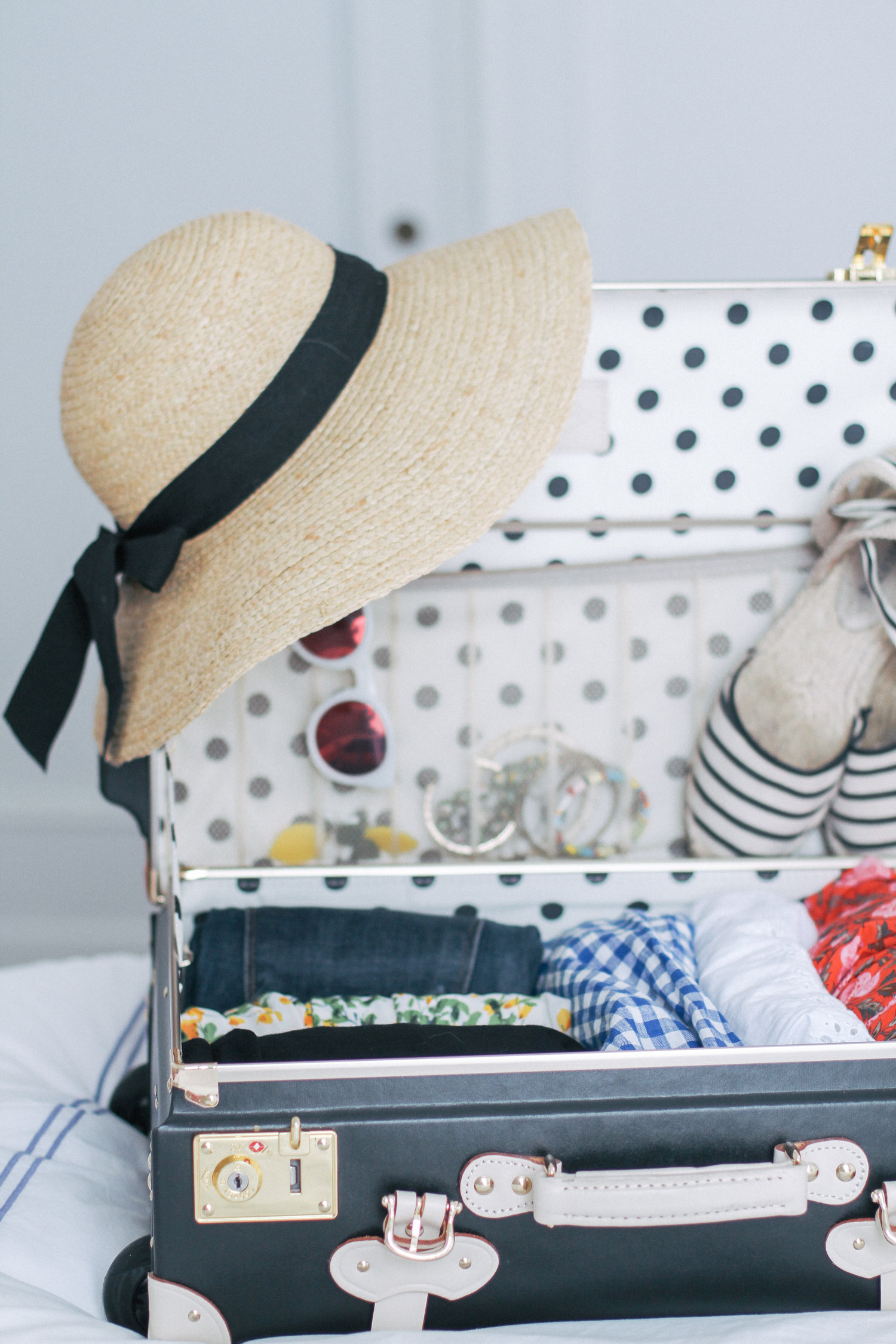 Steamline-Starlet-Carry-On-Packing | Monica Francis Reviews the SteamLine Luggage's Starlet Collection