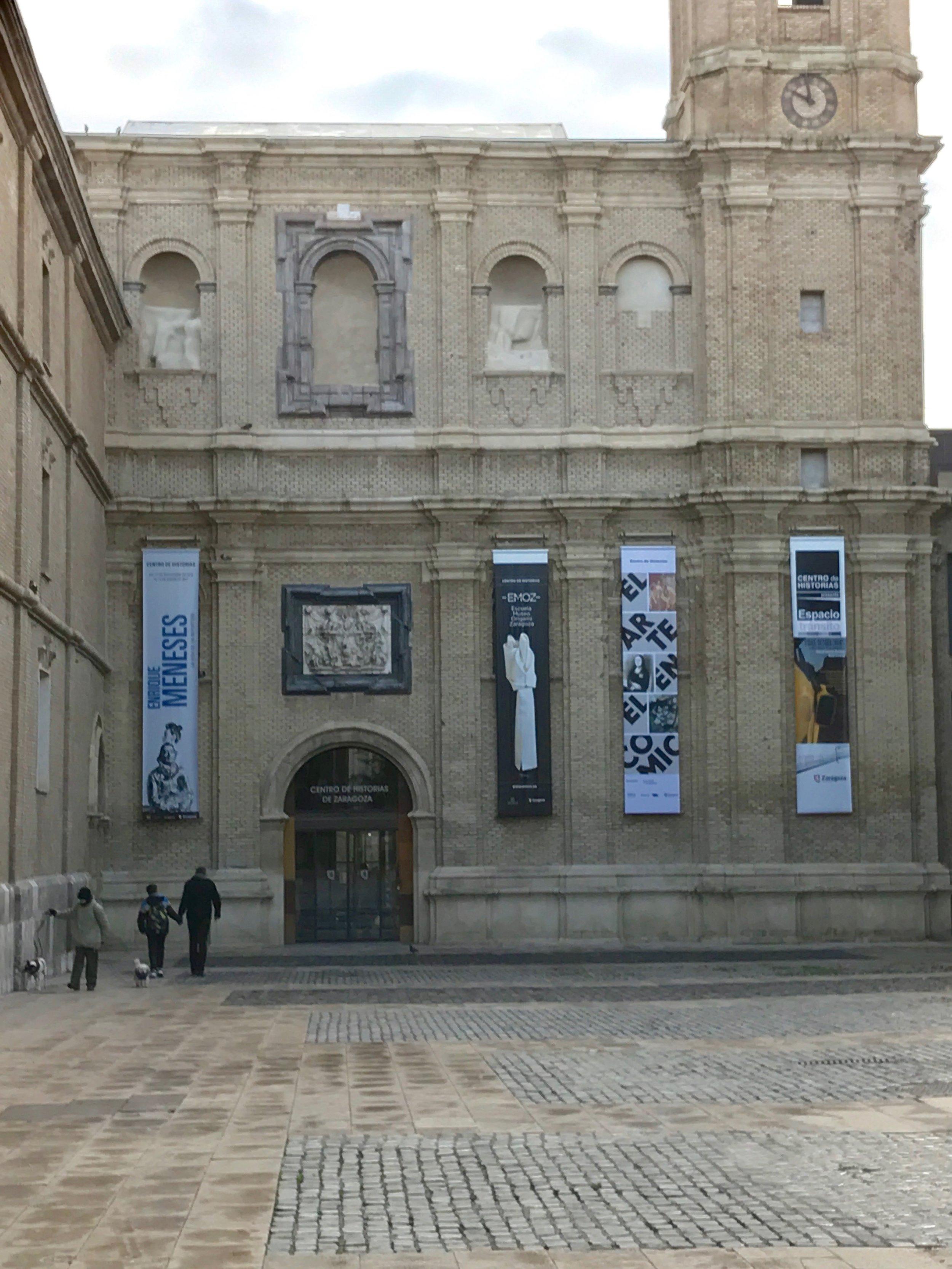 EMOZ Museum in Zaragoza, Spain