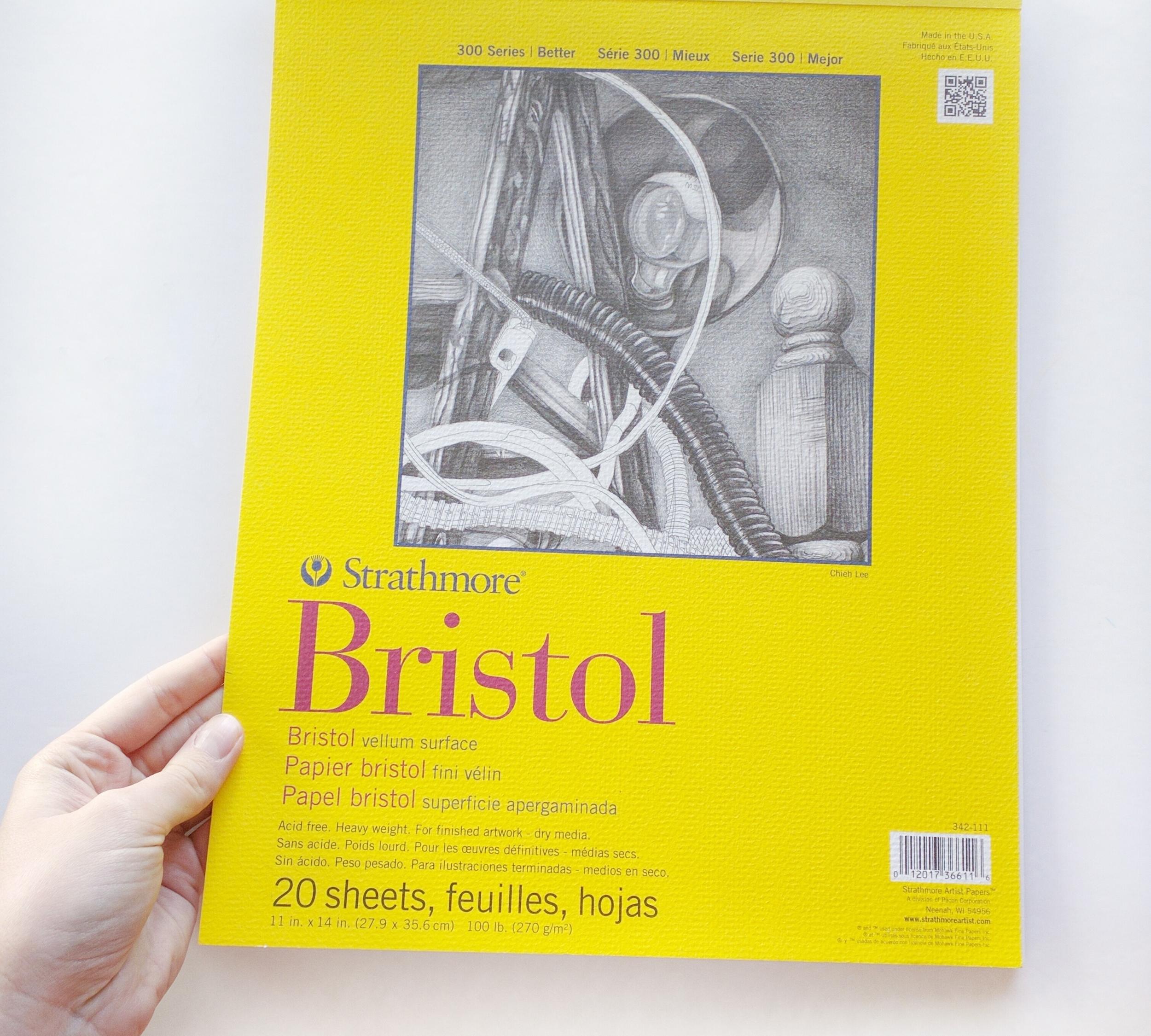 Favorite Drawing Supplies-Bristol Paper www.katiegeebely.com