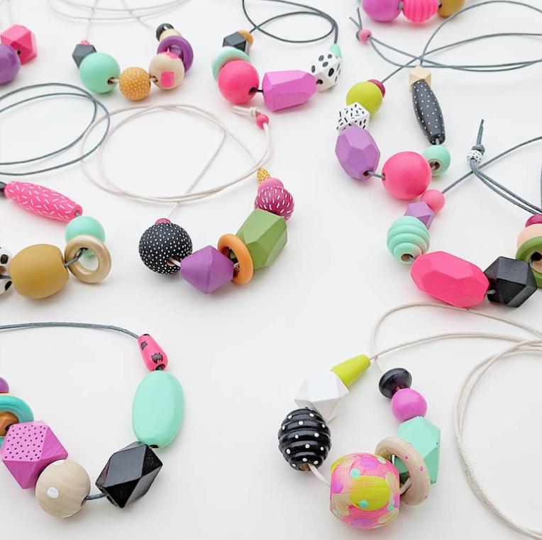 Happy Day Beads by Katie Gebely Studio #katiegebelystudio