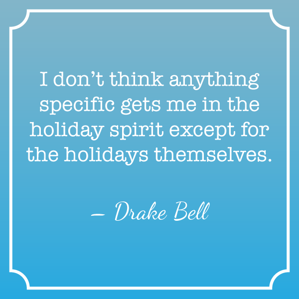 Quote about Holiday Spirit