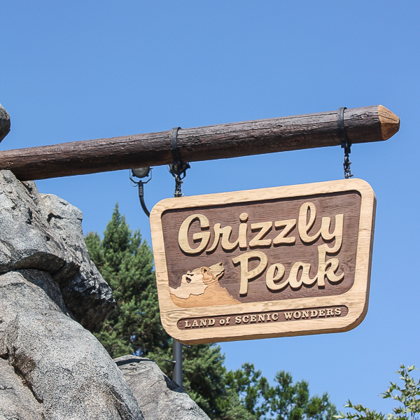 Grizzly Peak in Disney California Adventure