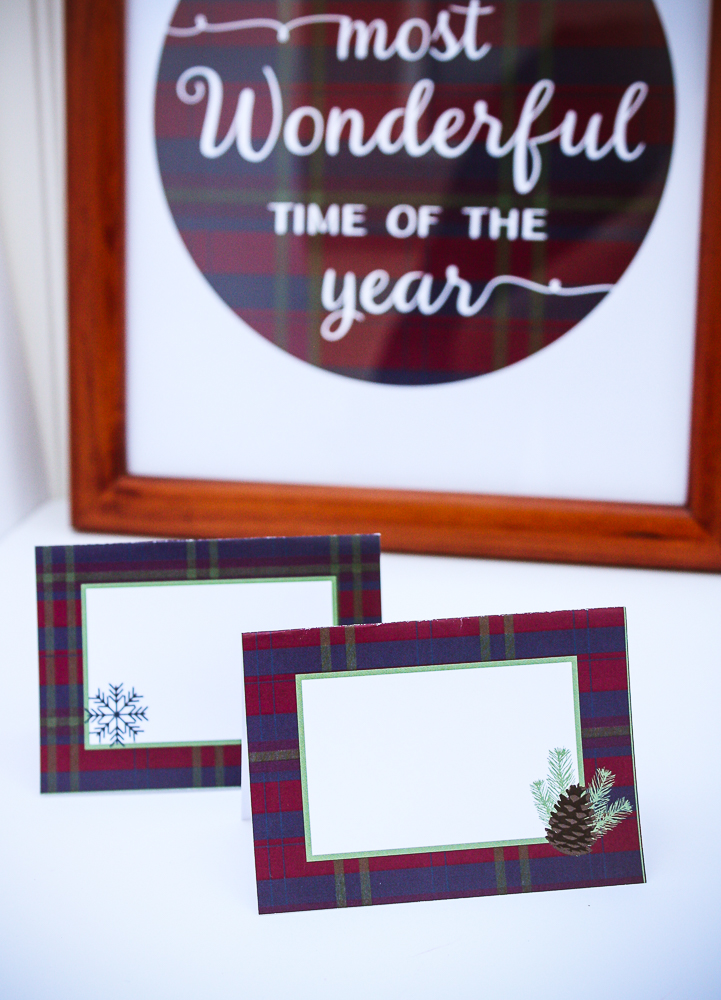 Free Holiday Party Printables - Enchanted Type
