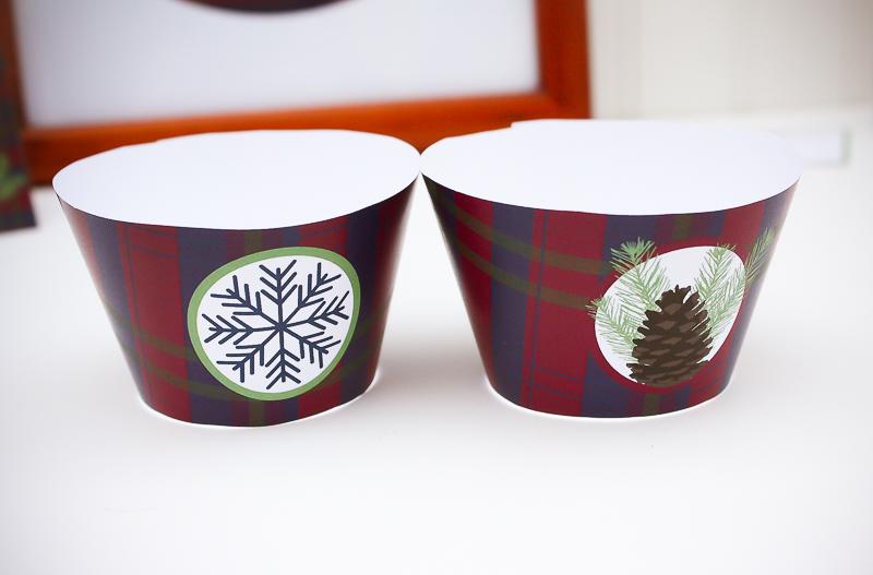Free Printable Muffin Wraps - Enchanted Type