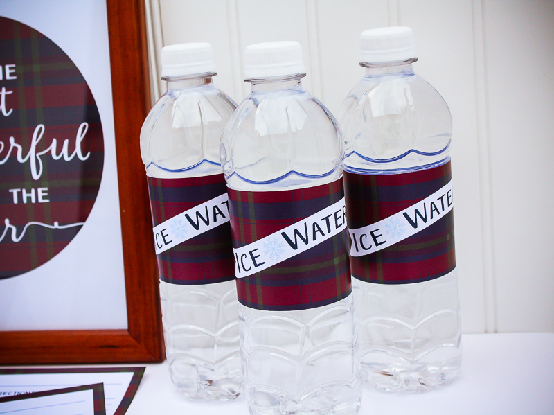 Free Printable Water Bottle Labels - Enchanted Type