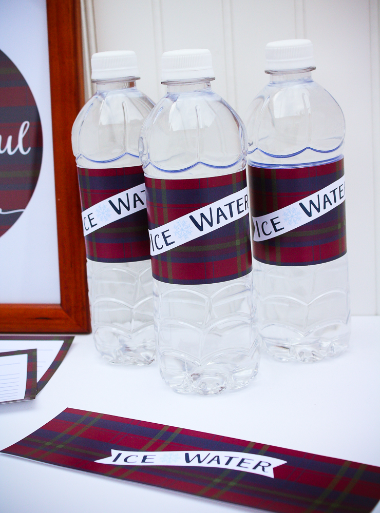 Free Printable Water Bottle Wraps - Enchanted Type
