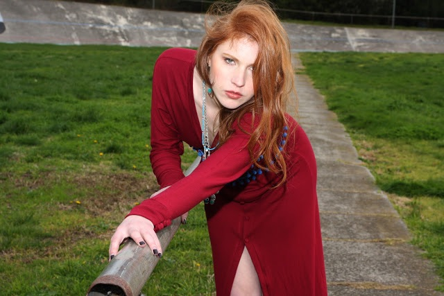Photography and Editing ELISHA BLOGG  Clothing and Styling WILDFLOWER by Kate Alice Williams  Hair and Make Up MARIA RUSSO  Model GRACE McCONCHIE    Location: Brunswick Velodrome, Melbourne.  August 2012