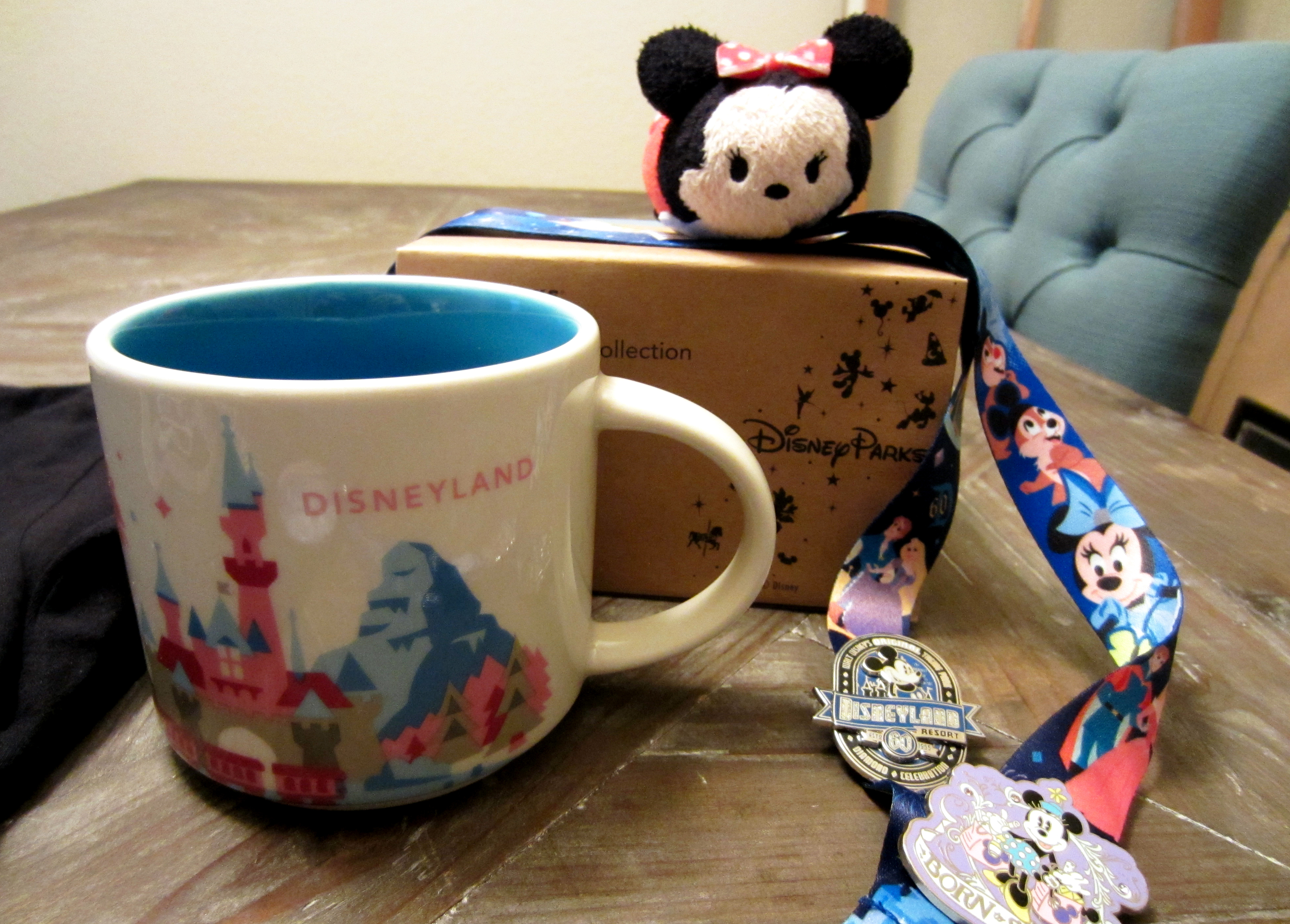 I was also super stoked to find the Starbucks 'You Are Here' Disneyland mug! A great one to add to my Disney mug collection.