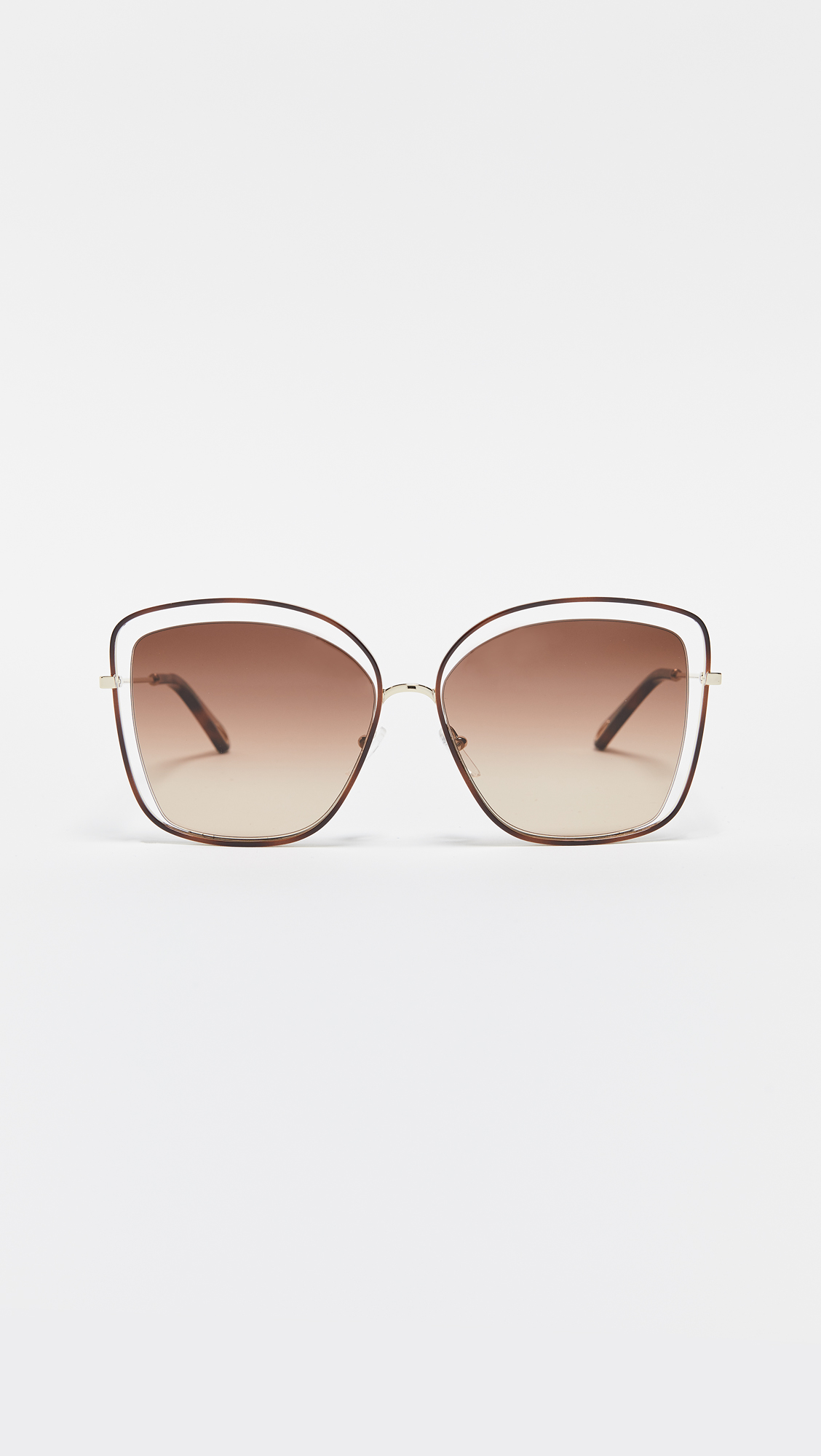 Cat-Eye Sunglasses - I love the retro-vibes of these sunglasses, and the extended wire frame that gives these shades a lightweight look.