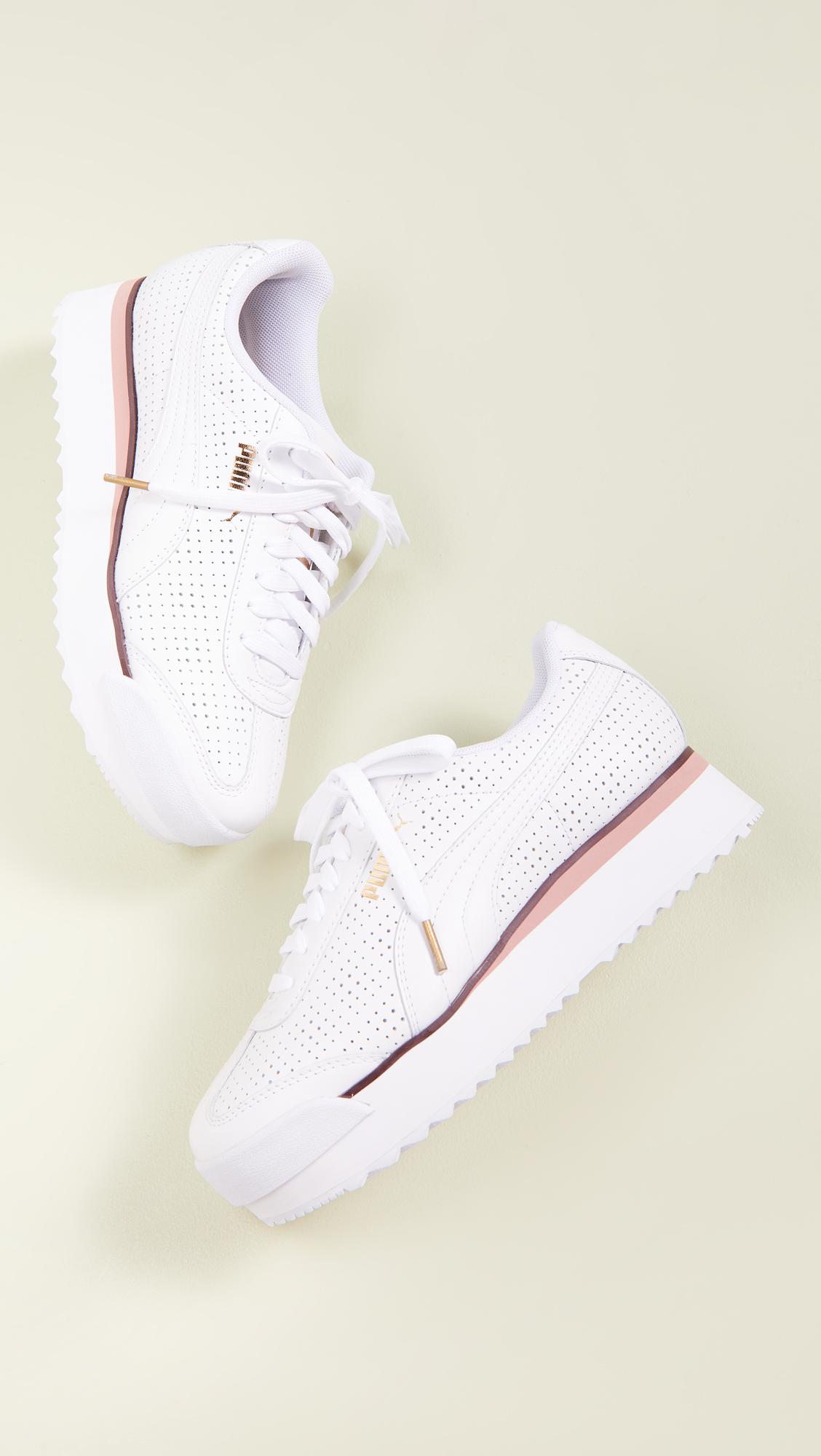 Platform sneakers -