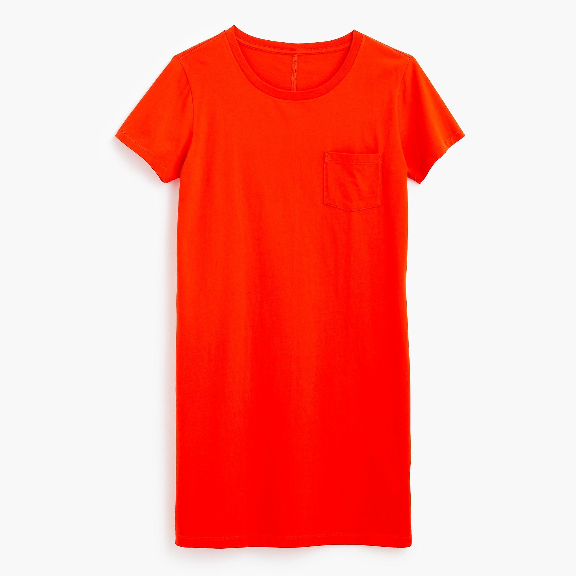 A t-shirt dress -