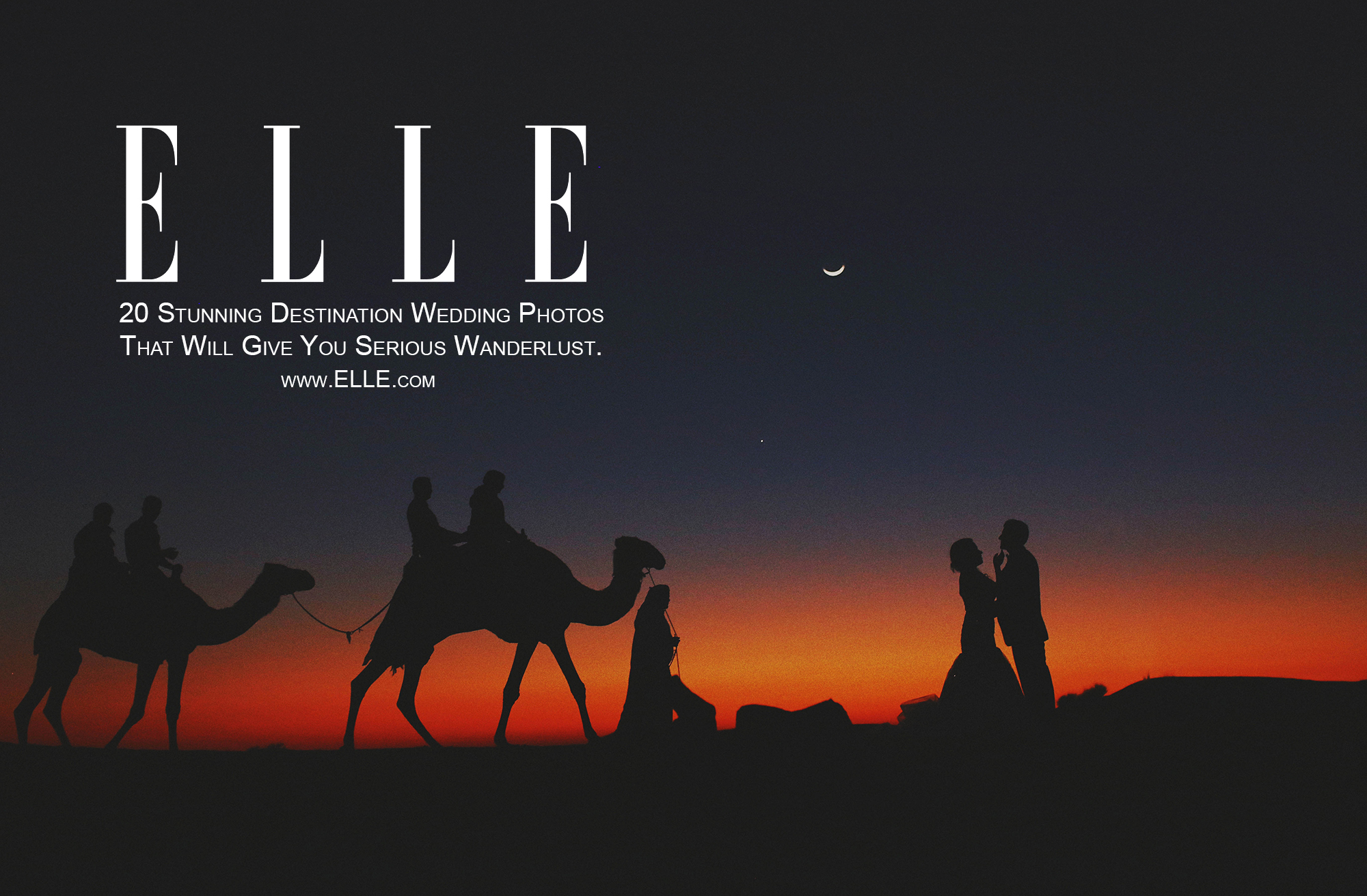 ELLE.com   20 Stunning Destination Wedding Photos That Will Give You Serious Wanderlust