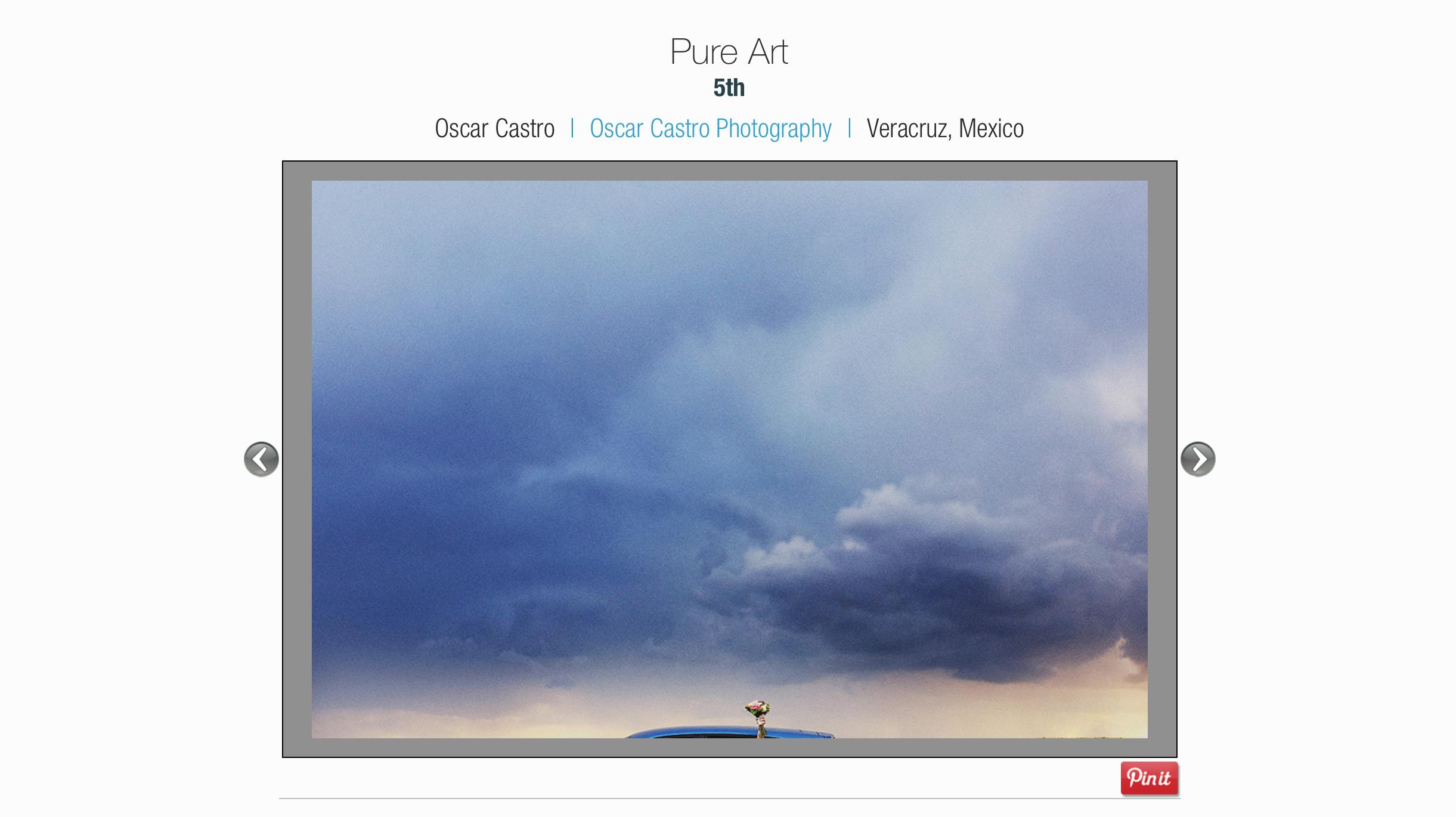 5th Place  Pure ART / ISPWP Award
