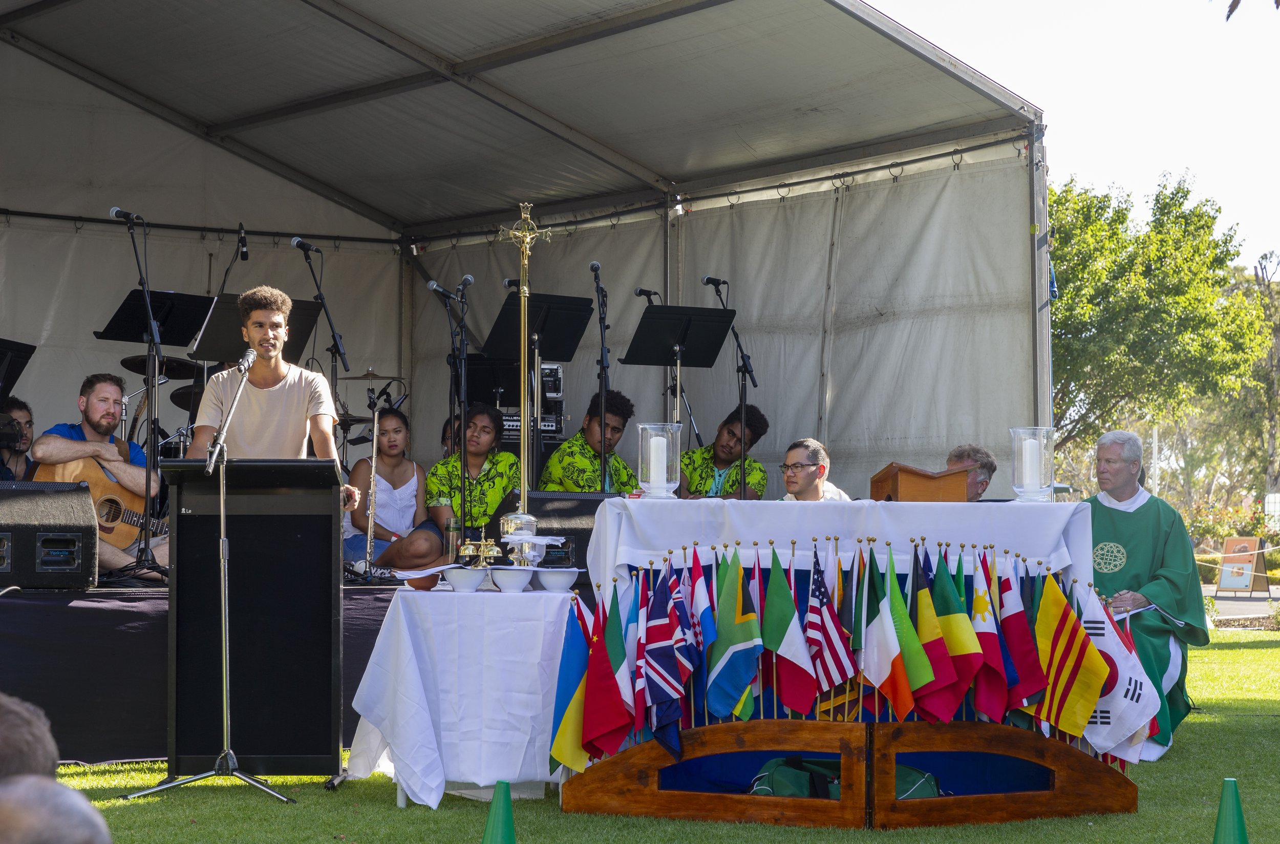 Sebastian Duhau, Youth Auditor at the 2019 Synod of Bishops, Guest Speaker at the WYD Adelaide Mass