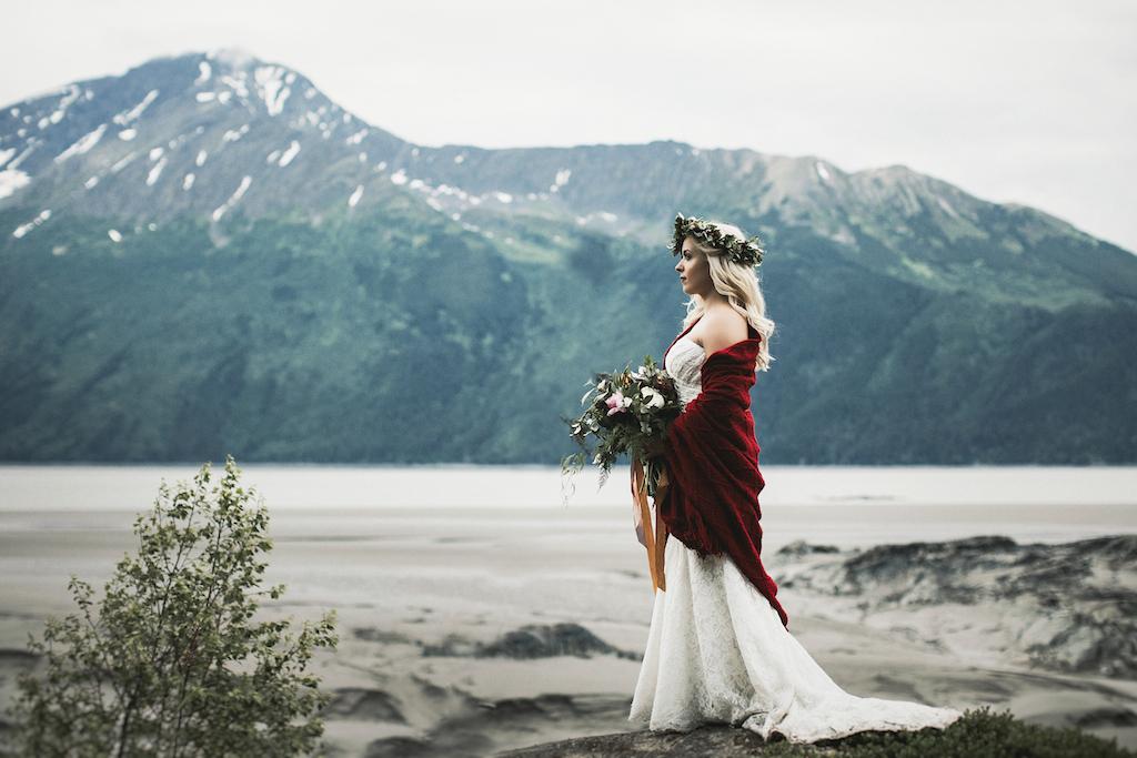Bohemian Mountain Elopement in Alaska - Alaska Destination Weddings
