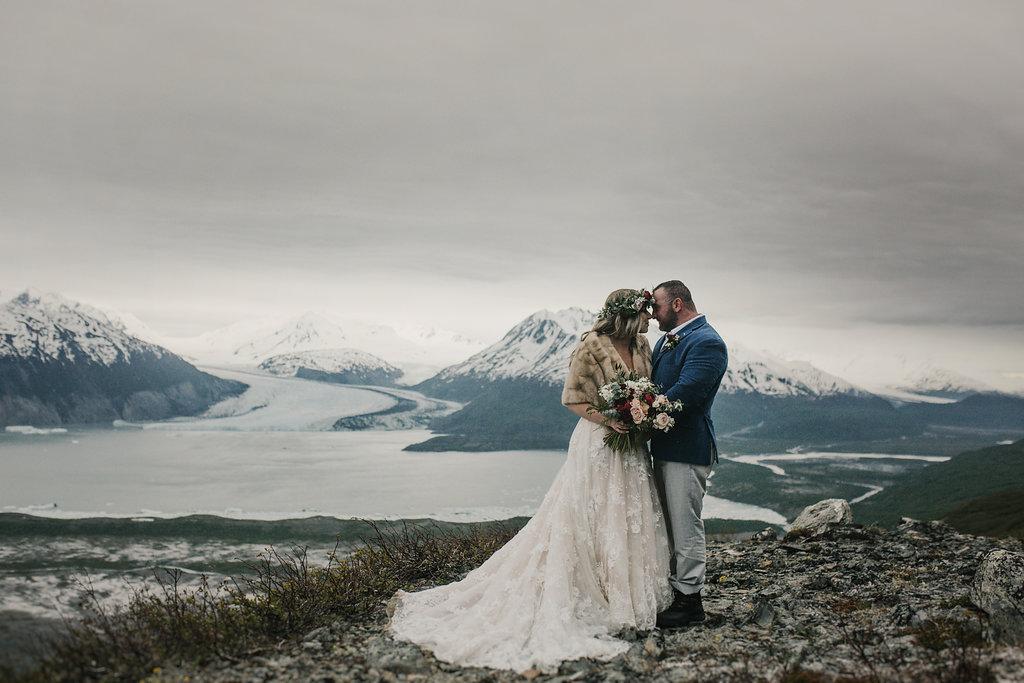 Alaska Glacier Elopement - Alaska Destination Weddings
