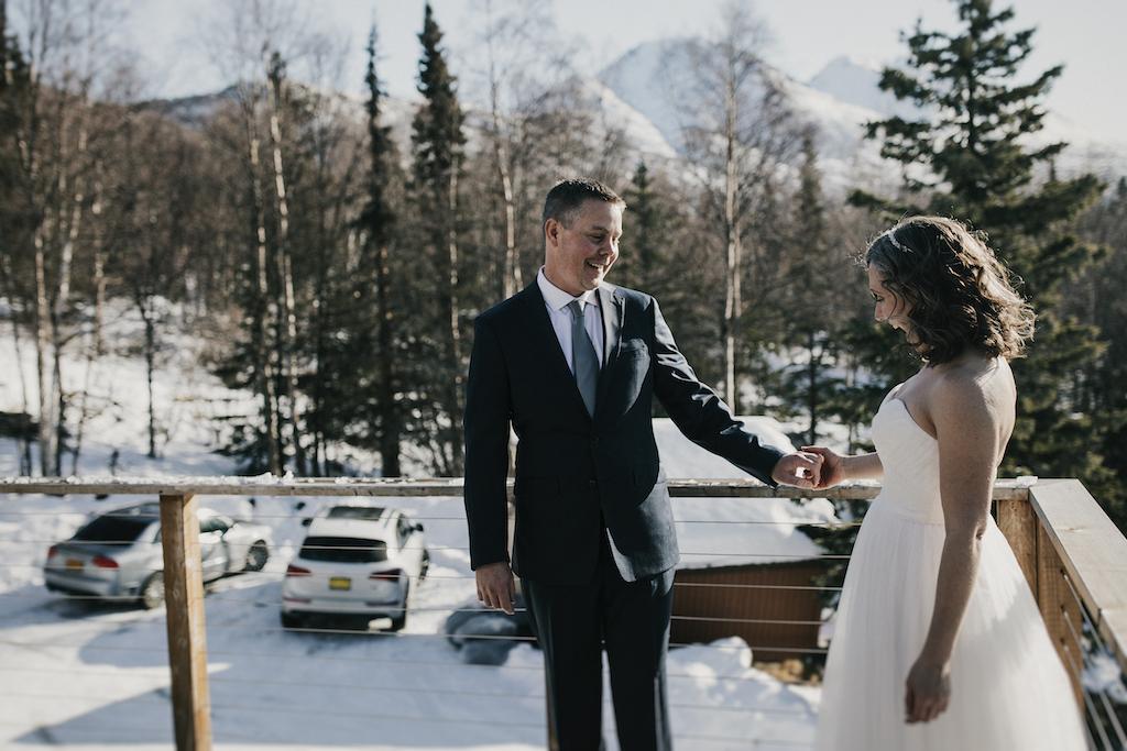 Alaska Helicopter Glacier Elopement - Alaska Destination Weddings