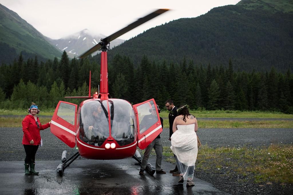 Elope to Alaska - Alaska Glacier Elopement - Alaska Elopement Packages