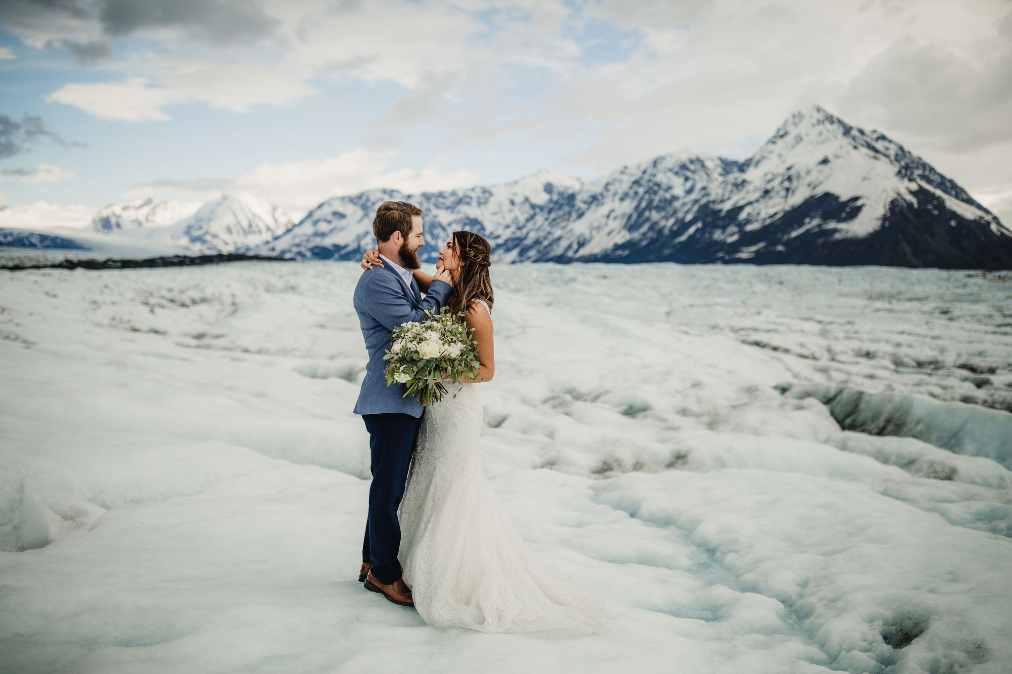 Alaska Glacier Wedding Packages