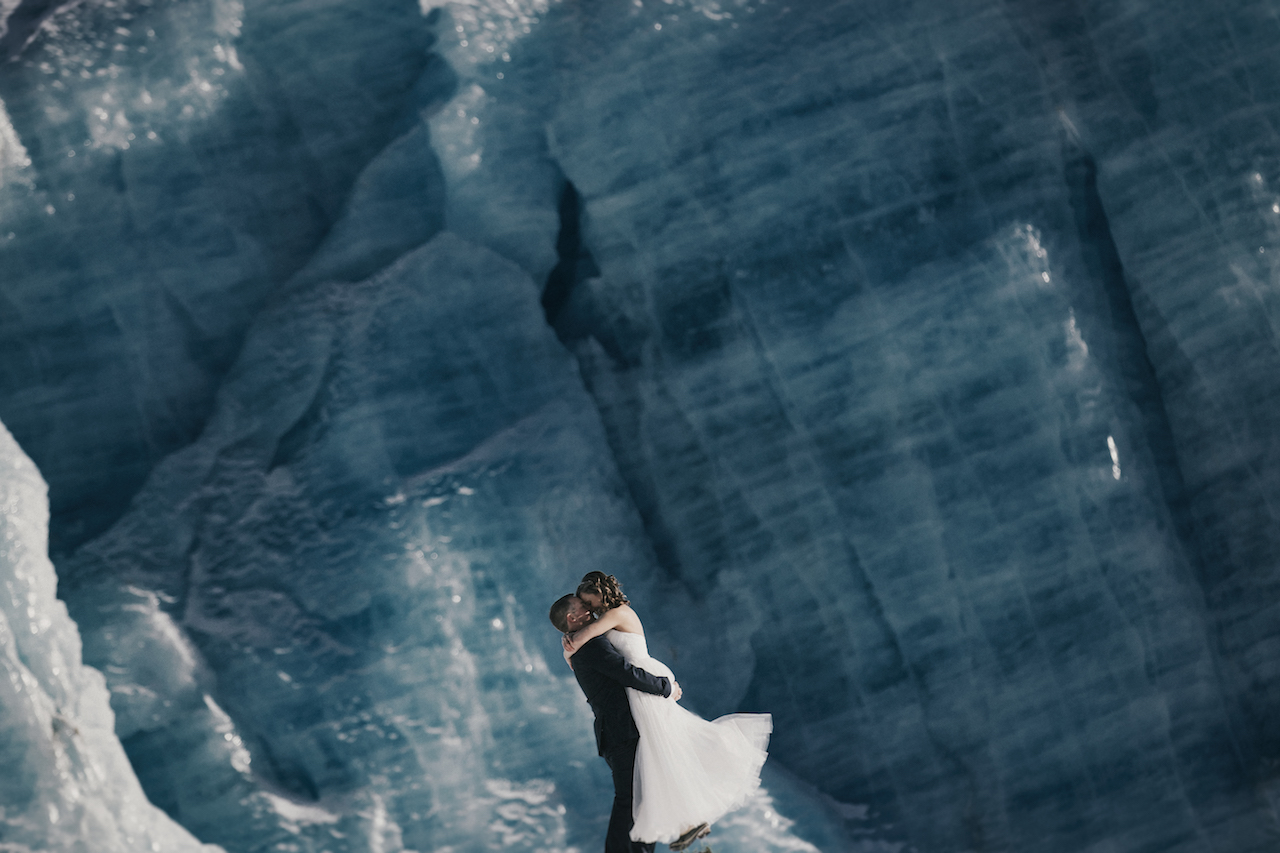 Alaska Glacier Elopement Packages
