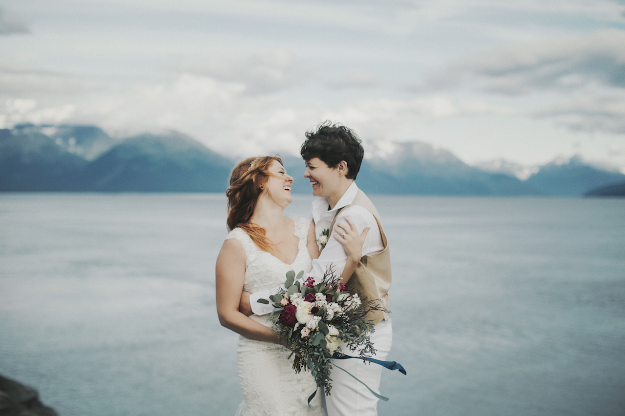 Alaska Wedding Elopement