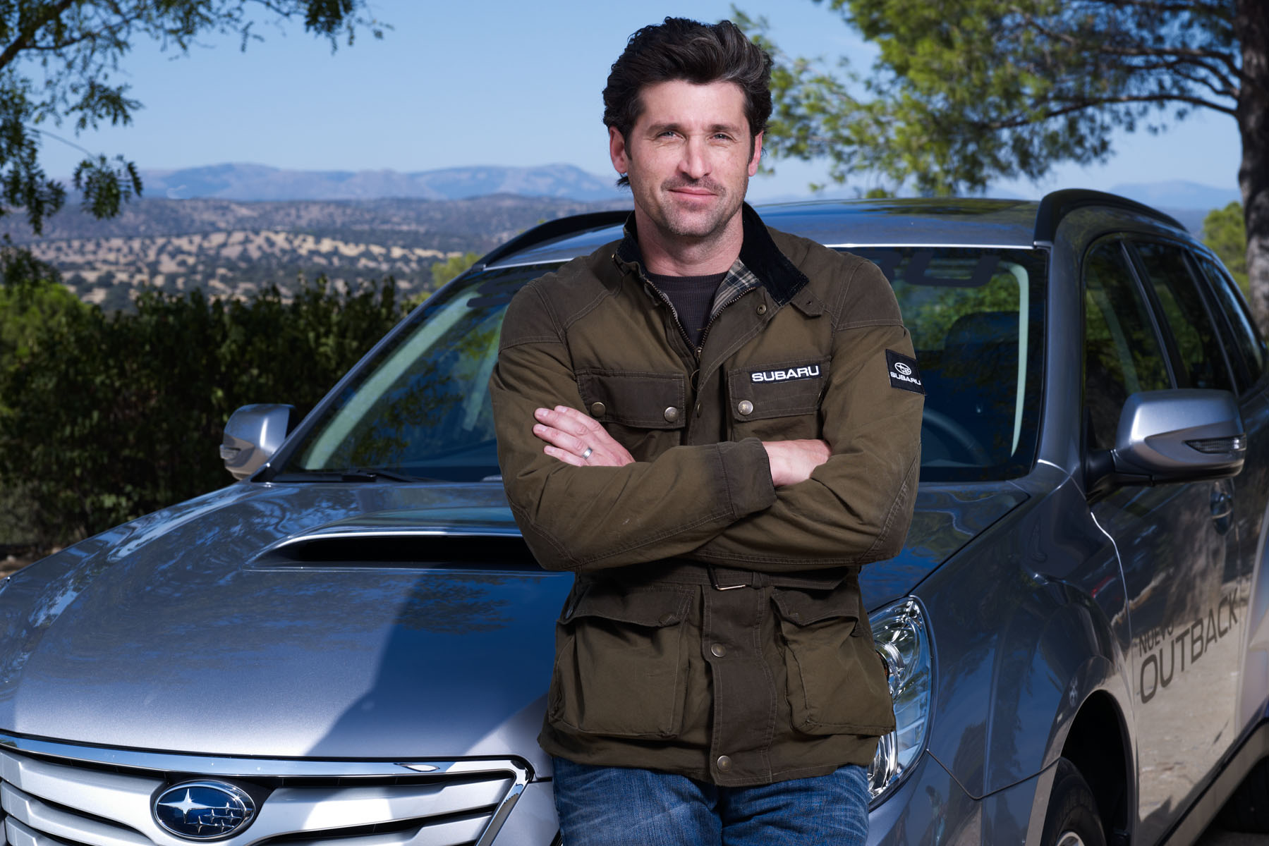 Patrick Dempsey for Subaru