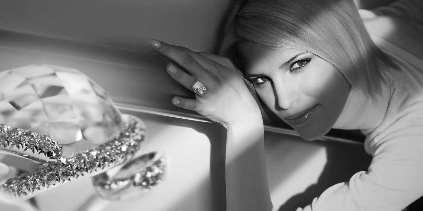 Laura Sanchez for Cartier