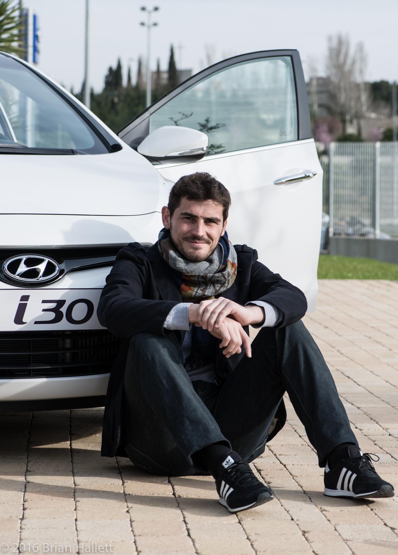 Iker Casillas for Hyundai
