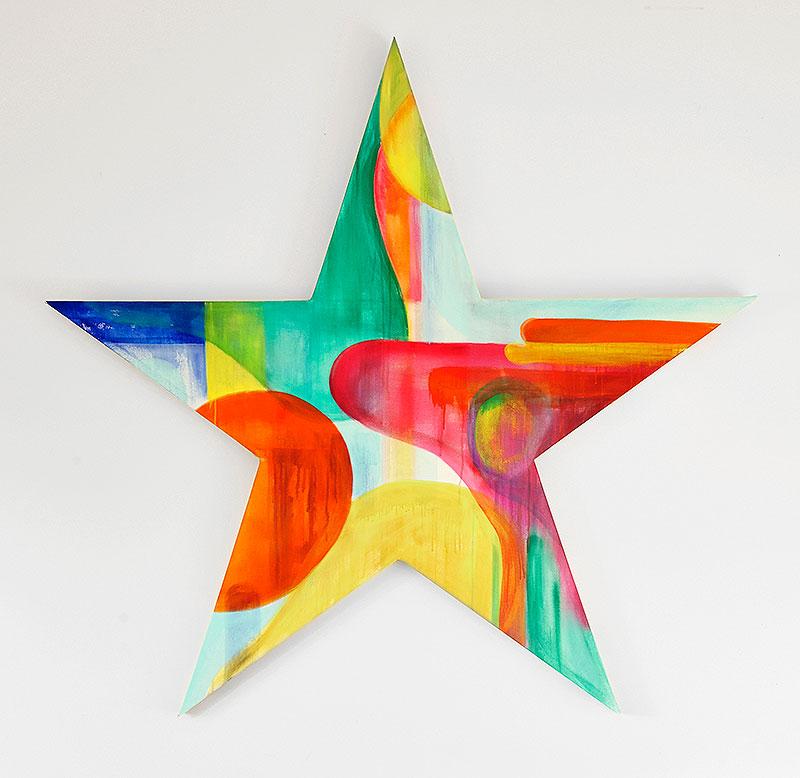 1.6m diameter Star