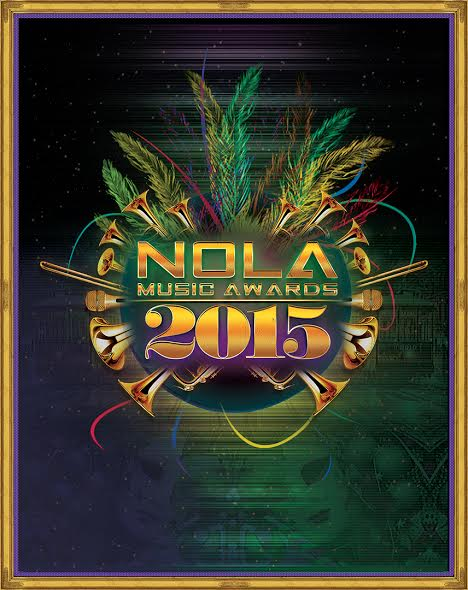 2015 NOLA MUSIC AWARDS POSTER