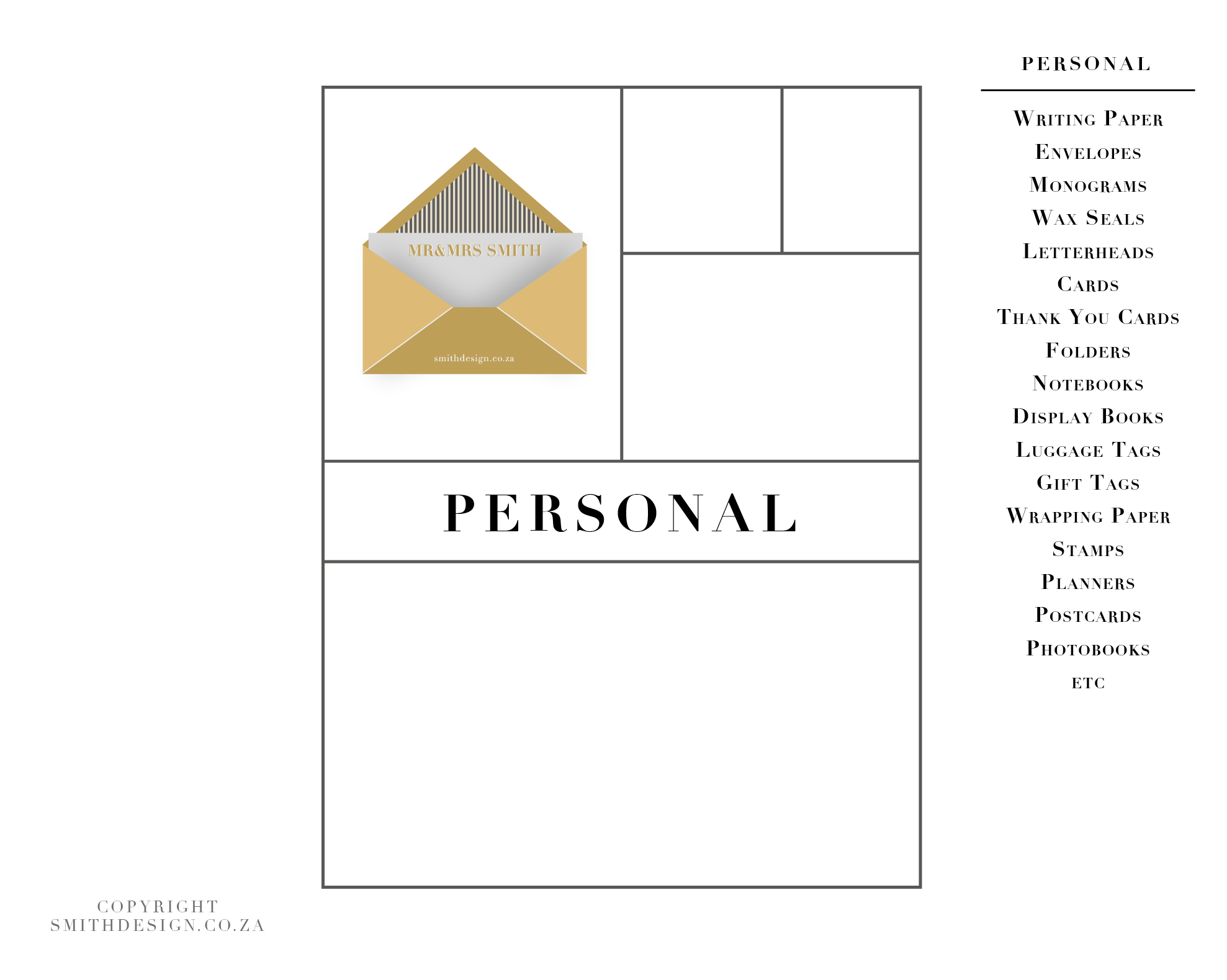 Smith Personal Stationery