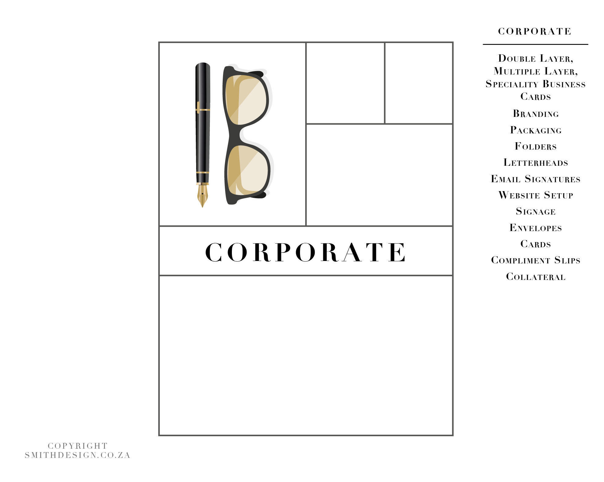 Smith Corporate Stationery