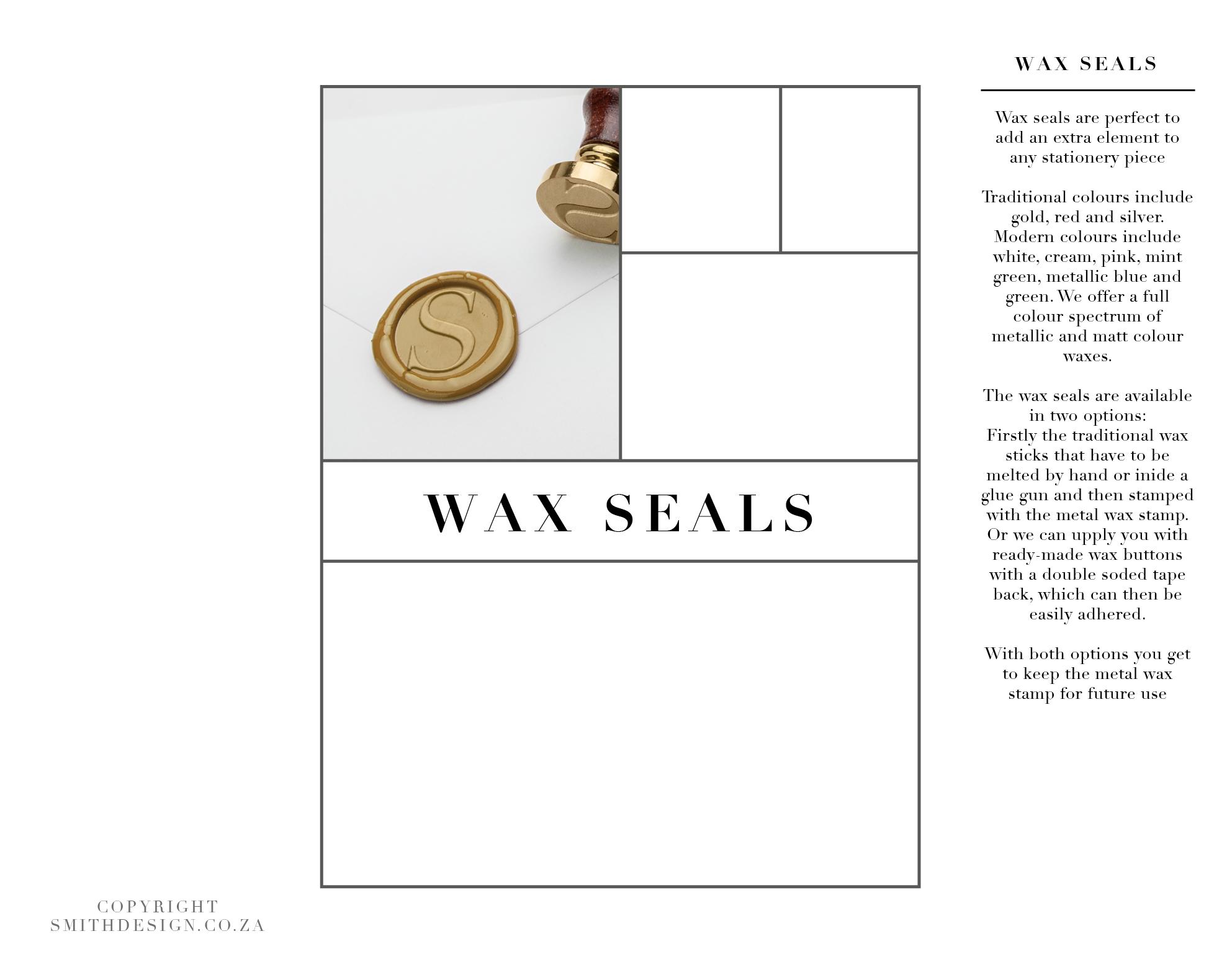 Smith Wax Seals