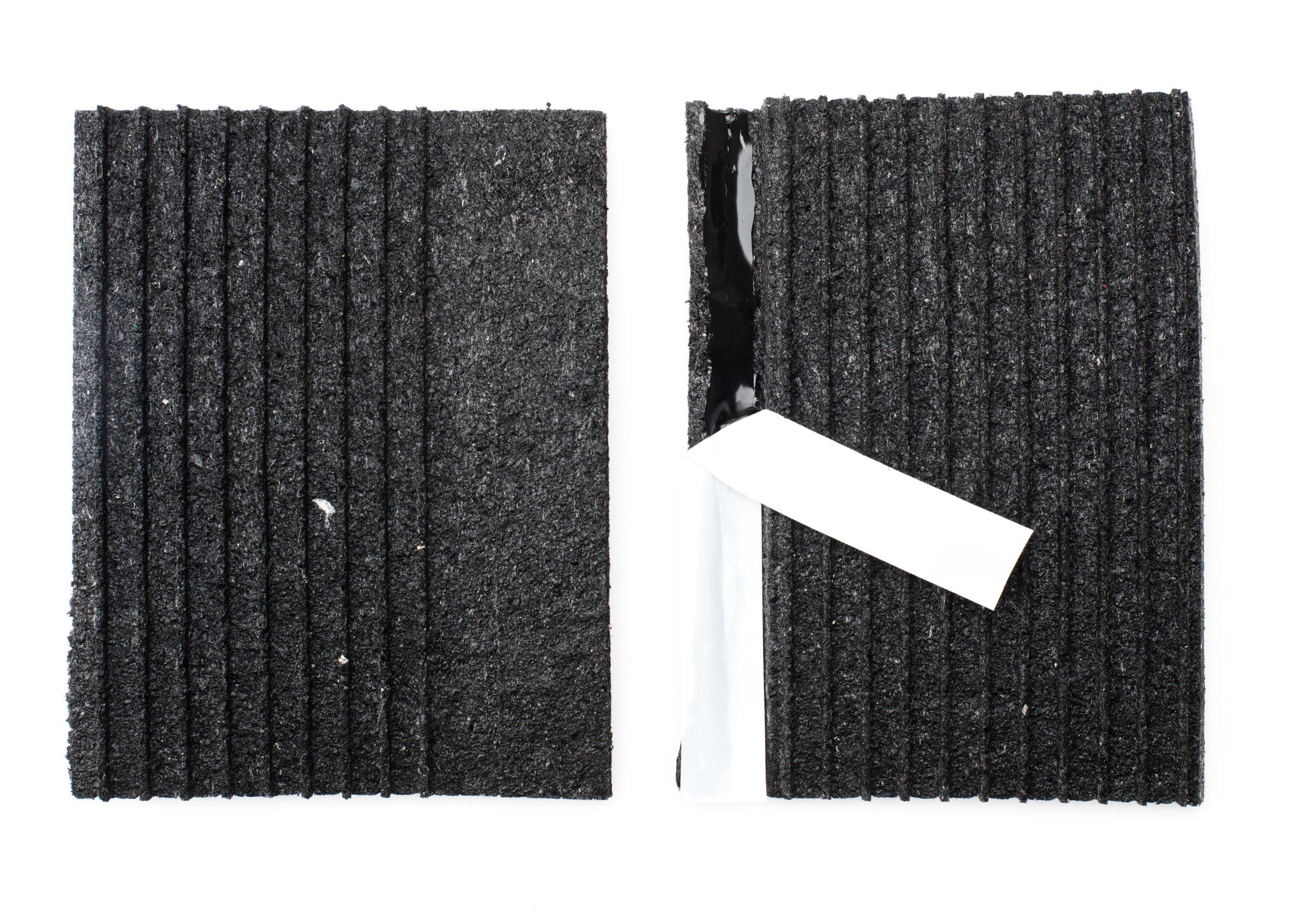 Tape system shockpad