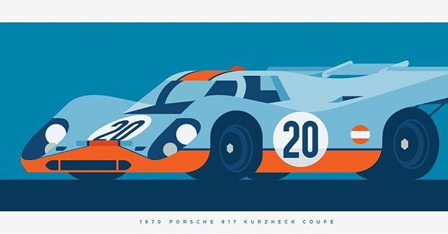 1970 PORSCHE 917 KURZHECK COUPE
