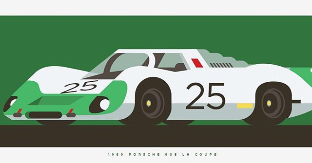 My another passion. Car... 1969 #porsche 908 LH coupe