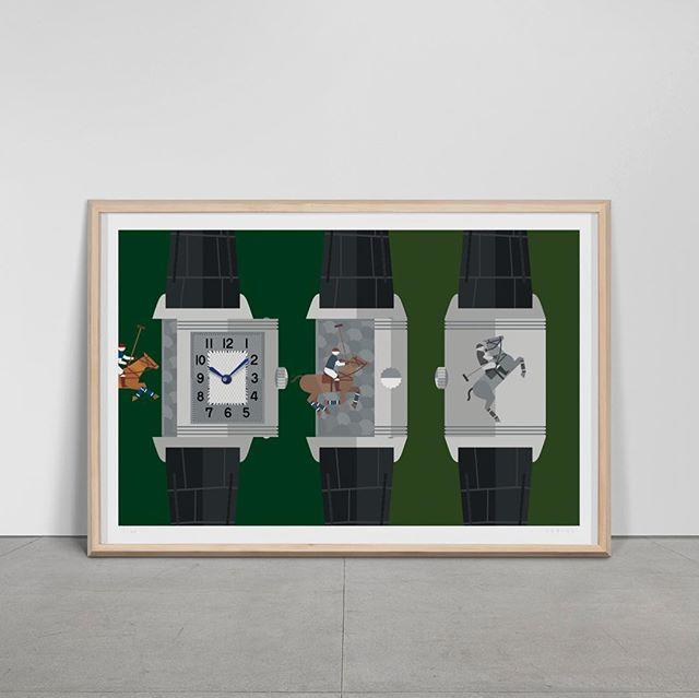 Reverso #watchart #wallwatch #jaegerlecoultre