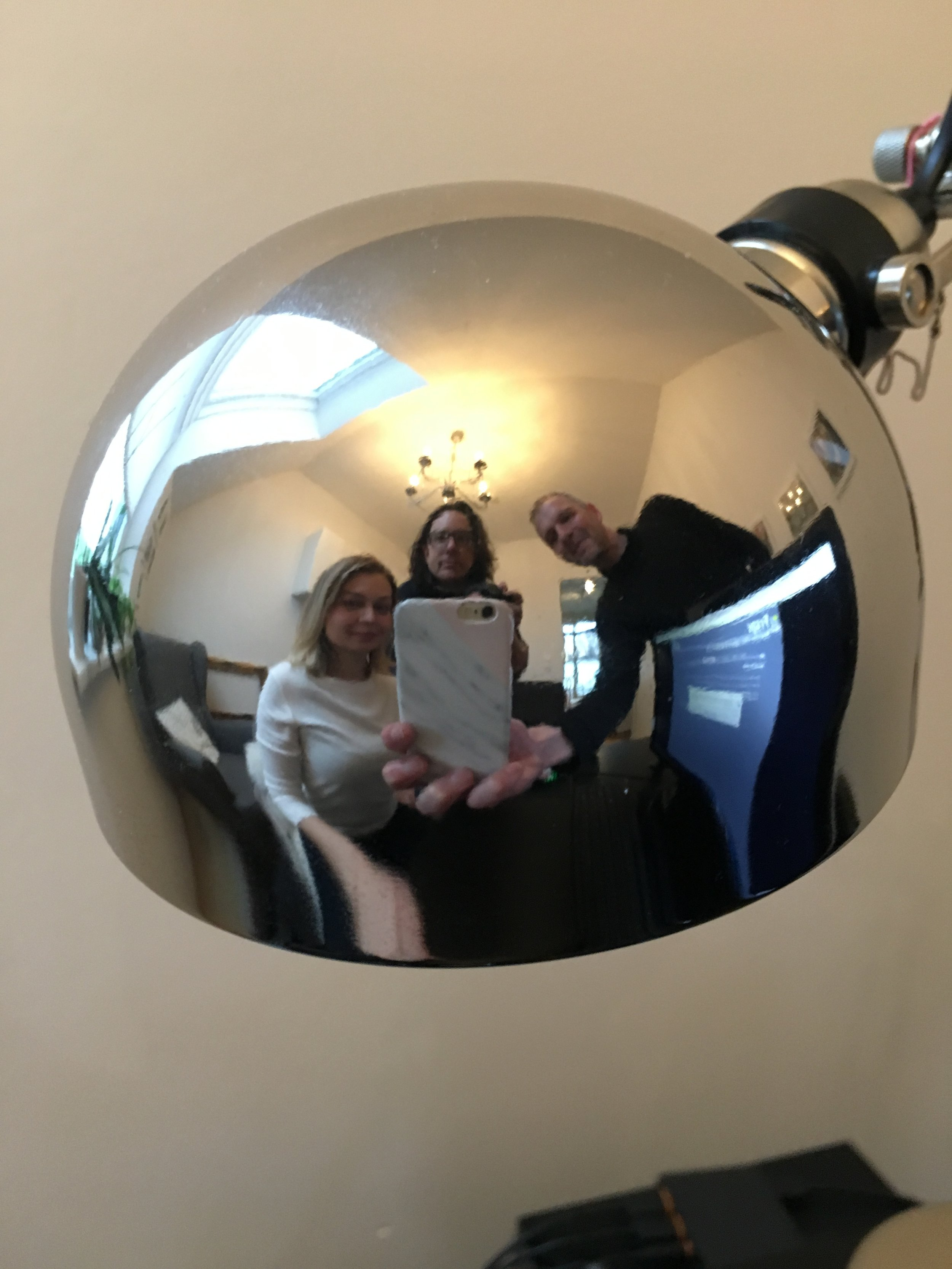the drax files team in 360 behind the scenes
