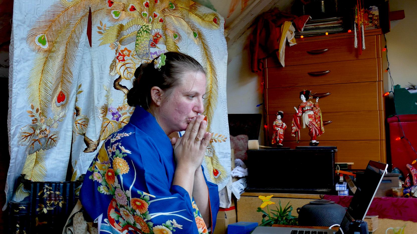 varahi and her avatar meditate....