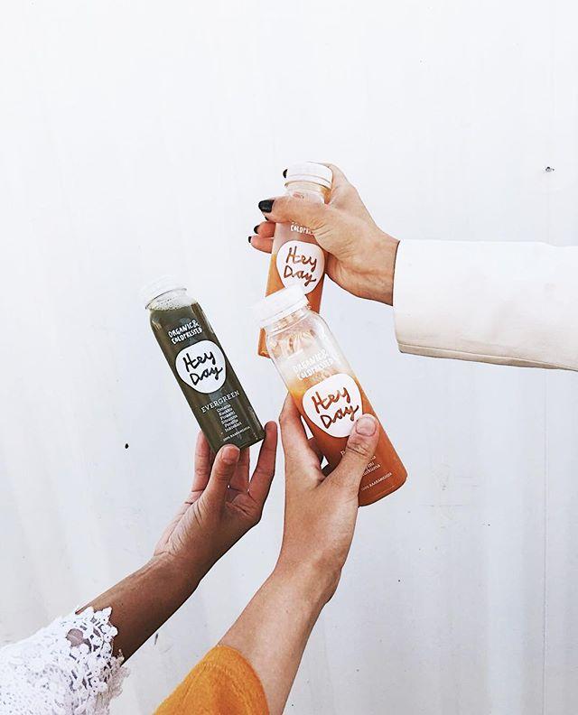 Yammy yammy 😍✨/ tasted these organic juices in @hernesaarenranta super yammy !!