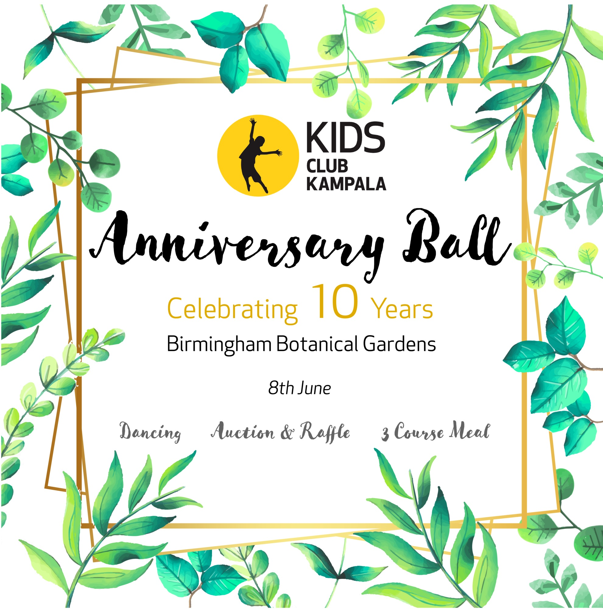 Get Tickets for the Anniversary Ball. - On Sale Now!!