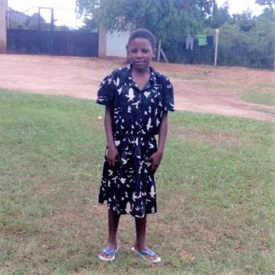 Grace at our Ewafe project Home