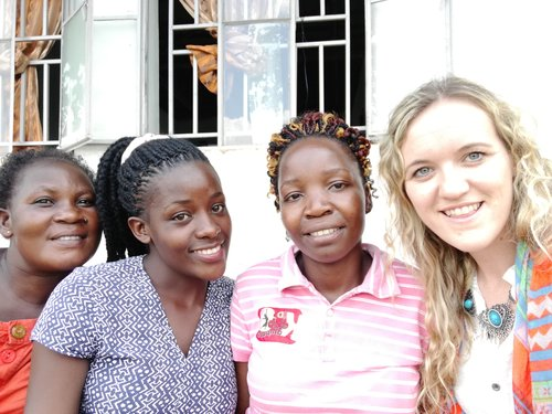 With our Ewafe Project Staff
