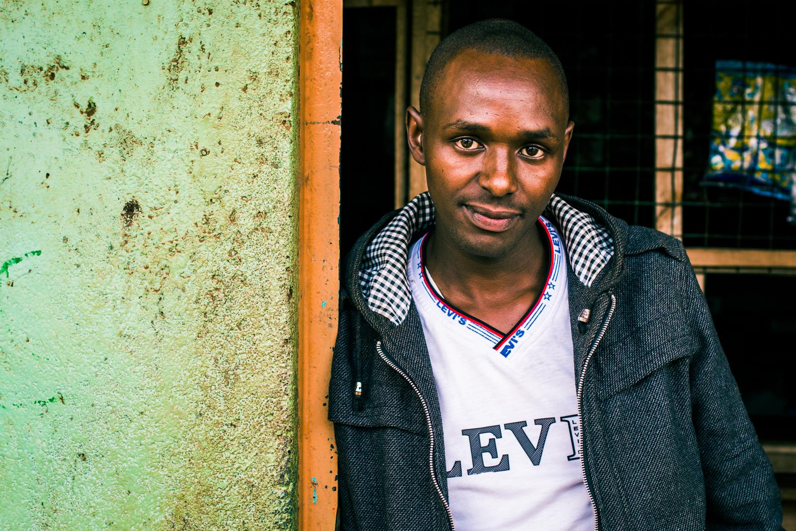 Peter Kamau Kinyanjui, Age 28, Kambaa, Kenya   Business Entrepreneur / Dairy Trader