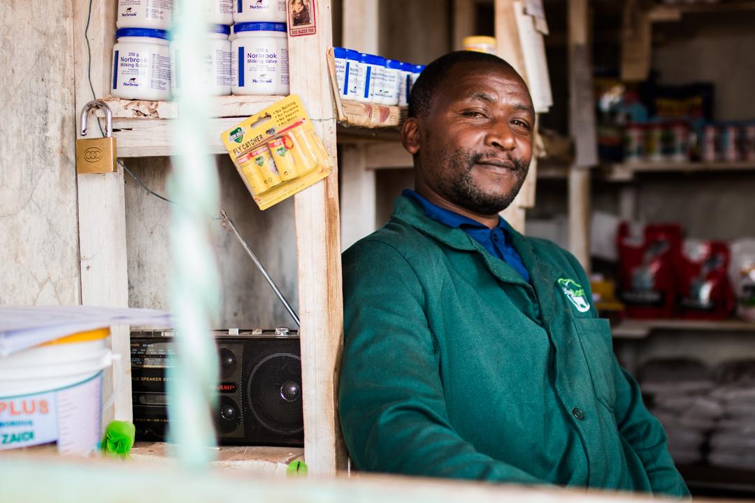 John Njenga Karinga, Stockist, Kahuruko