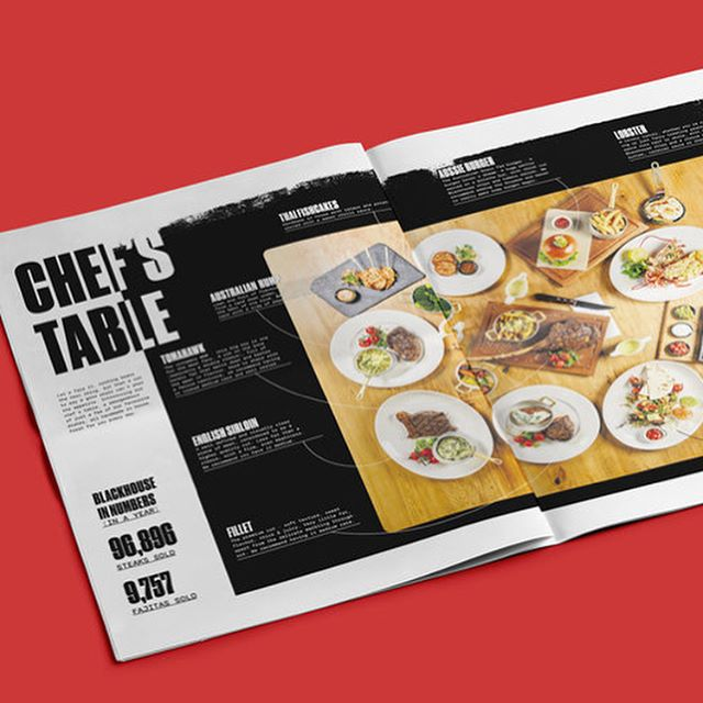 Backhouse - Steaks and the city. A place for great steak and seafood, always warm and inviting, where the drinks and conversation flow. We worked with Backhouse to produce a Beautiful bespoke newspaper.  #designer #photography #indesign #menu #steak #lovefood