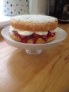 Victoria Sponge that Mary Berry would be proud of.