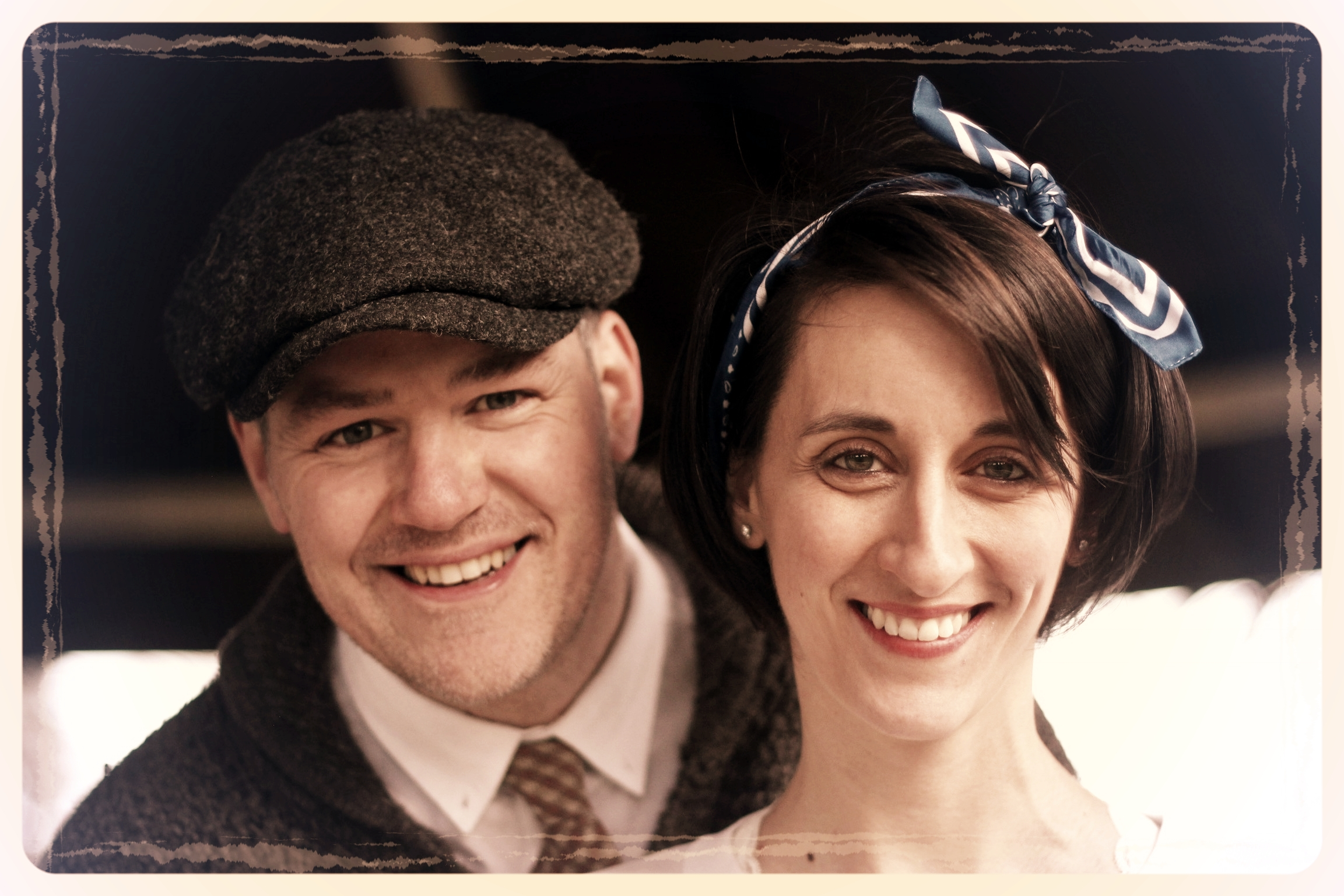 Shaun & Laure-Astrid Barker - LINDY HOP & SWING JIVE - DURSLEYGraduates of the Just Jive school, Shaun has been dancing for many years and has experience in many different styles, although he has truly fallen in love with the Swing family of dances (Jive, Lindy Hop & Collegiate Shag). Shaun says