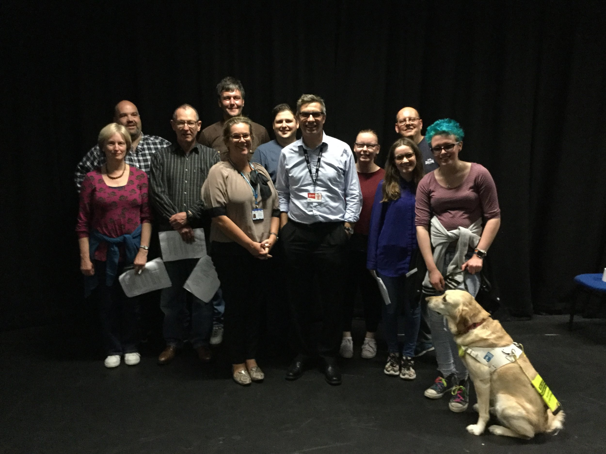 The Company with Teri Sanders (Locality Manager Adult Mental Health Tees Esk and Wear Valleys NHS Foundation Trust) and Chris Weeks (Commissioning Manager: City of York Council | Adults Commissioning Team Health, Housing and Adult Social Care Directorate).