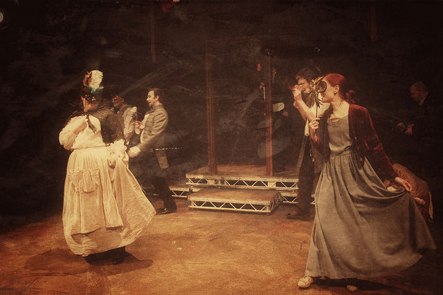 A Lunatic Ball is held to raise money for the asylum...but it's hard to tell the difference between patron and patient.